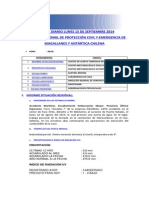 Informe Diario Onemi Magallanes 15.09.2014