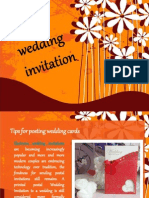 Tips for Posting Wedding Cards