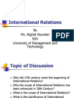 2.Nature and Scope of IR