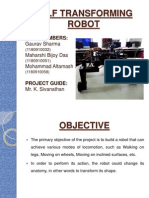 MT 25 - Self Transforming Robot PPT