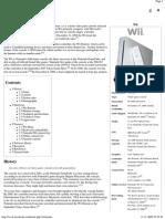 Wii - Wikipedia, The Free Encyclopedia