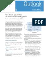 Accenture Channel strategy matrix
