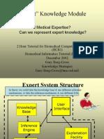 """Expert"" Knowledge Module"