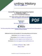 Accounting History 2001 Napier