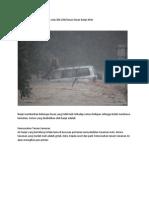 Kesan Banjir