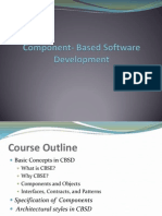 Component Based Software Development