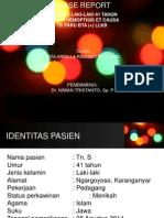 HEMOPTISIS e/c TB PARU BTA (+)