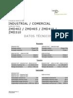 LANDIS GYR ZMD-datos Tecnicos