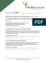 ONLINETEXTE.com - Newsletter 28.07.2014.pdf