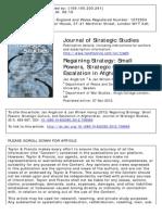 Regaining Strategy