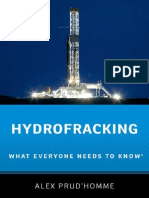 Hydrofracking- What Everyone Needs to Know