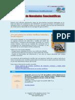 Boletín N°9, setiembre 2014