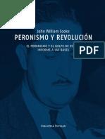 Peronismo y Revolución John William Cooke