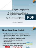 Reading MySQL fingerprints
