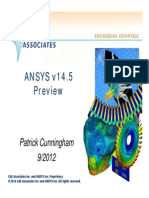 ANSYS 14.5 Preview