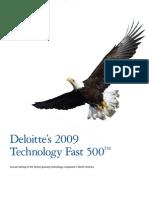 Deloitte 2009 Tech Fast 500