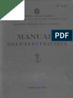 Manuale Dell'Elettricista 1939