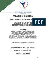 Facultad de Ingeniería Proyecto Integrador - Análisis de Cicloide.