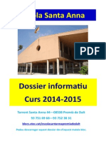 Dossier Inici Curs 2014-2015