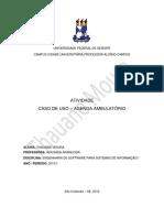 CASO DE USO - AGENDA AMBULATÓRIO