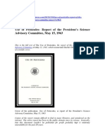 Use of Pesticides_Report to US President_1963
