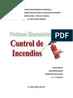 Nociones Elementales Sobre Control de Incendios