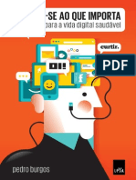 Primeiro Capítulo Do Livro Conecte-se Ao Que Importa Do Jornalista Pedro Burgos
