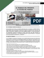 277. EL TRABAJO DEL PRESENTE, EL FUTURO DEL TRABAJO