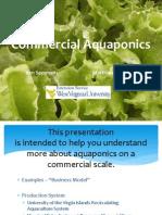 2013 Forum - Commercial Aquaponics