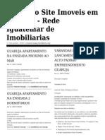 Jornal de Imóveis no Guaruja Apartamentos na Enseada