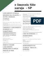 Jornal de Imóveis no Guaruja Aptos Guaruja