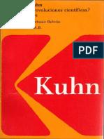 Kuhn Thomas, Qué Son Las Revoluciones Científicas