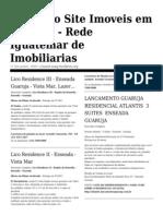 Jornal de Imóveis no Guaruja - Imoveis Guaruja Net