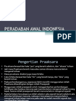 Peradaban Awal Indonesia