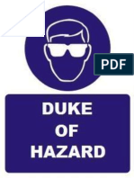 Duke of Hazard Price List