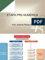 2° ETAPA PRE-NUMÉRICA