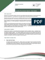 Analyses of Commodiry Procurement Spend