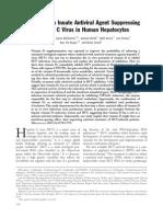 Vitamin D an Innate Antiviral Agent Suppressing