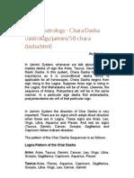 Jaimini Astrology - Chara Dasha