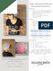 PATTERN - Side Tab Mini Slouch 2013
