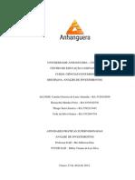 Atps Análise de Investimentos - Concluida