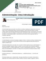 5 Administração_ Uma Introdução - Artigos - Carreira - Administradores