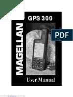Magellan GPS 300 Manual
