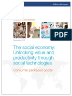 MGI the Social Economy Consumer Packaged Goods