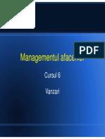 Suport de Curs 6 Management de Afaceri