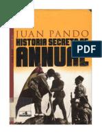 Historia Secreta de Annual - Juan Pando