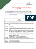 Actualizacion Legislativa en Riesgos Laborales