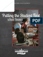 Putting the Student First