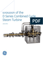 D Series Combined Cycle Steam Turbine