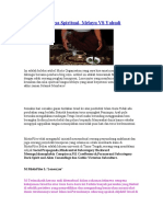 Penghulu Bangsa Spiritual- Melayu VS Yahudi -Mistis Files